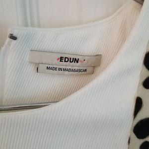 Authentic EDUN fur dress